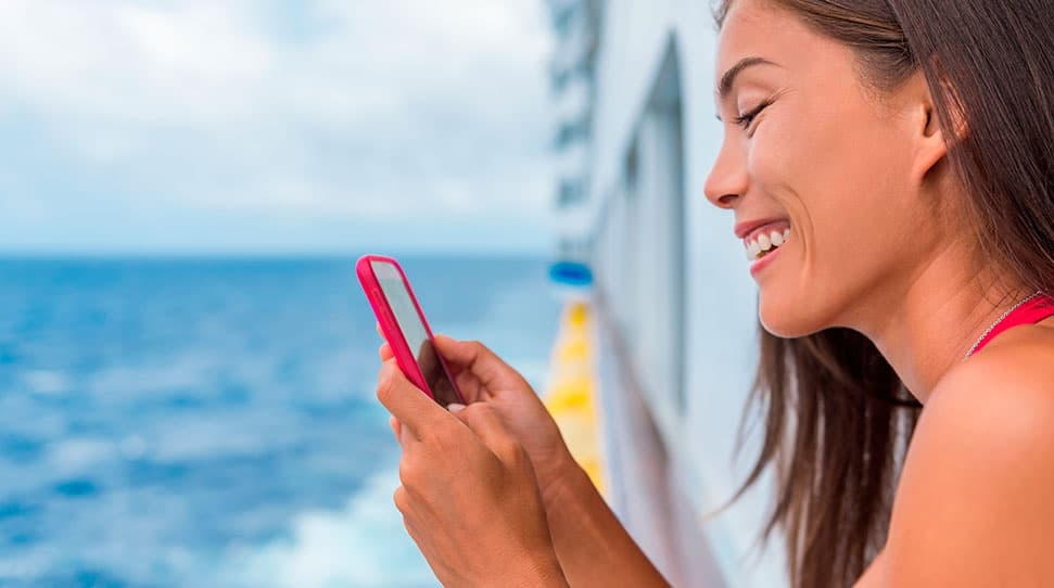 Broadband communication systems for cruise liners and ferries