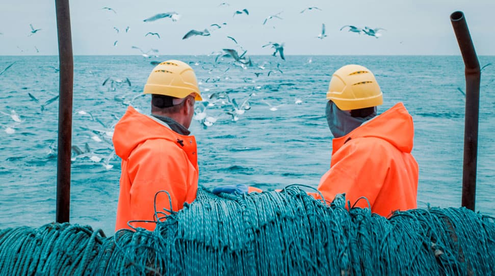 Broadband communication systems for fishing fleets